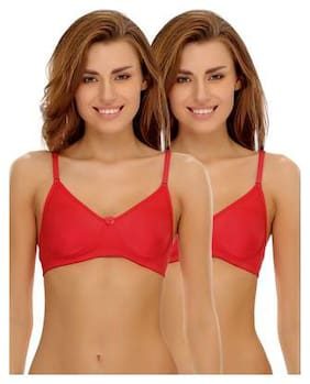 Solid Non Padded Pack of 2