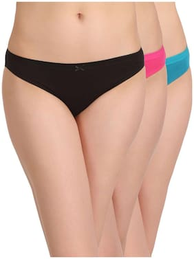 Spandex Solid Pack of 3