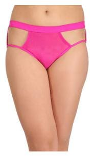 Clovia 1 Hipster Solid Panty - Pink