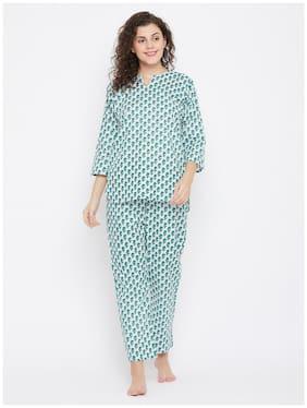 Floral Top and Pyjama Set