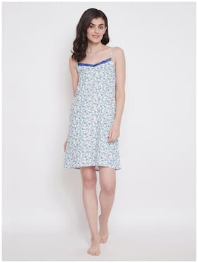 Women Floral Nightdress ,Pack Of 1