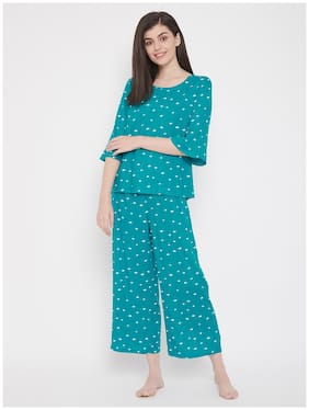 Polka Dots Top and Pyjama Set ,Pack Of 2