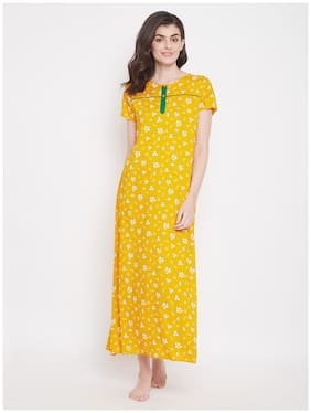 Women Floral Nightdress