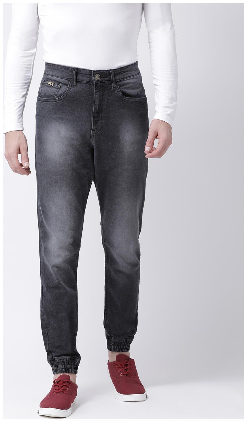 CLUB YORK Men Black Slim Fit Jeans by Club York