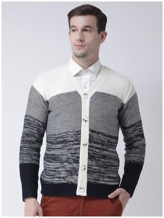 Club York Men's Casual Sweater Blue