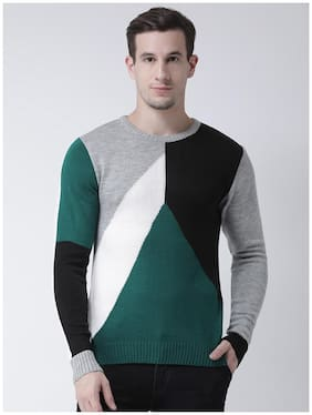 Men Acrylic Full Sleeves Sweater Pack Of 1