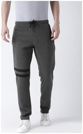 Regular Fit Cotton Track Pants