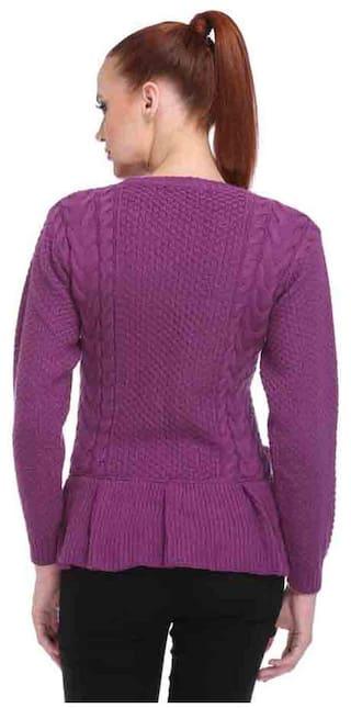 Purple Club YORK Sweater Cotton CQ3ydy
