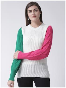 Women Colourblocked Sweater
