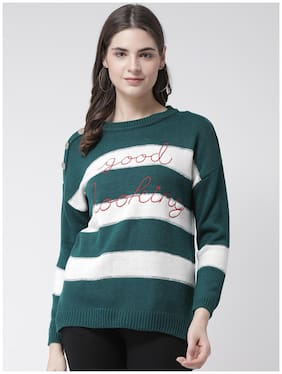 Women Striped Sweater