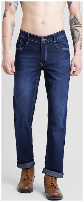COBB Men Mid rise Narrow fit Jeans - Blue