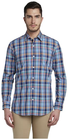 ColorPlus Men Regular Fit Casual shirt - Blue