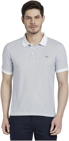 Men Polo Collar Printed T-Shirt ,Pack Of Pack Of 1