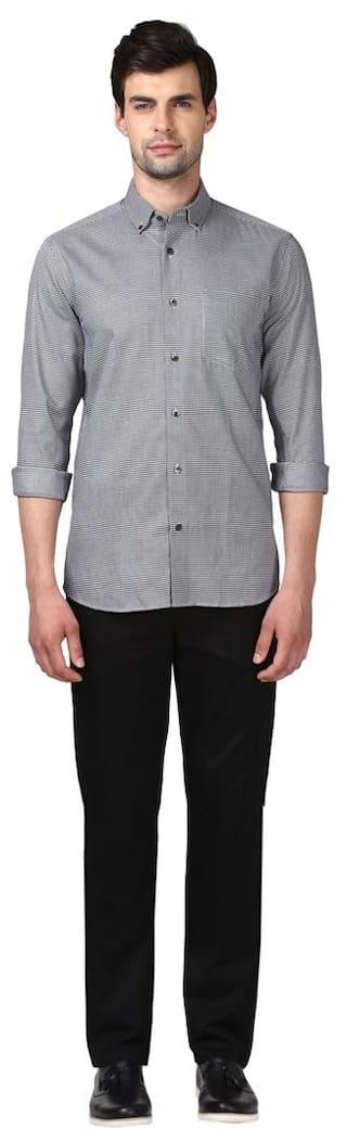 Shirt Cotton Fit ColorPlus Men Tailored ZmusSQt