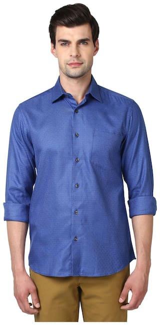 ColorPlus Men Slim Fit Casual shirt - Blue