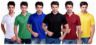 Concepts Pack Of 6 Polo Tshirts