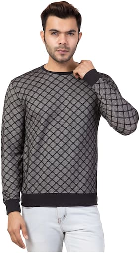 Corsair Men Black & Grey Round neck Sweatshirt