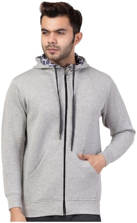 Corsair Men Grey Hooded Hoodie