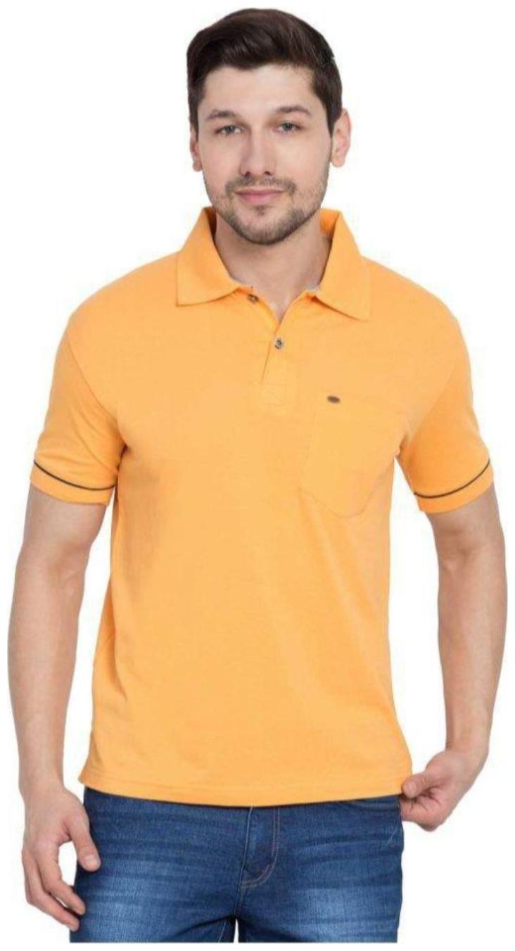 Mens Plus Size Pure Cotton Solid Loose Fit Tshirt 2XL   Polo Tshirt for Men  Plus Size T shirts  Tshirts for Men Polo   Polo Tshirt for Men   Classic