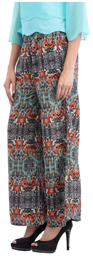 Cottinfab Women's Palazzo Women's Abstract Printed Cottinfab Abstract dxtPfz
