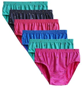 Brano Cotton Hipster Panties(Pack of 6)