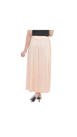 Lycra Skirt Cotton Solid Plain qi67wOJ