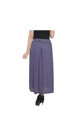 Lycra Plain Skirt Solid Cotton qtOBXOCUb