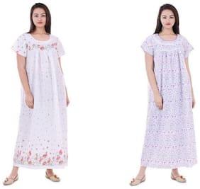 Women Printed Nightdress
