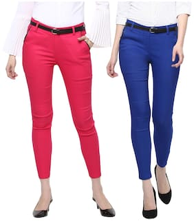 Cotton Spandex Trouser for Woman/Girl