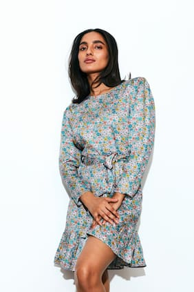 Cover Story Multi Floral Sheath dress