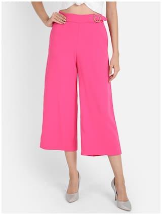 Cover Story Women Pink Regular fit Regular trousers