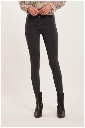 Cover Story Women Black Skinny fit Jeans