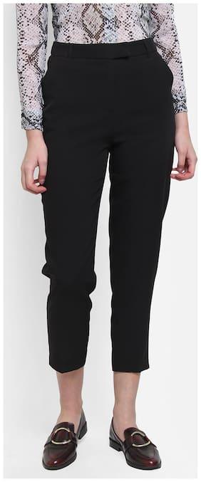 Cover Story Women Black Regular fit Regular pants