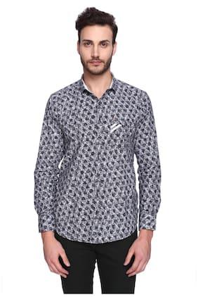 CREO Men Regular Fit Casual shirt - Grey