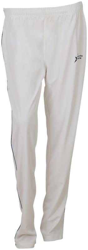 SPORTS SPARX Men Poly cotton Track Pants - White