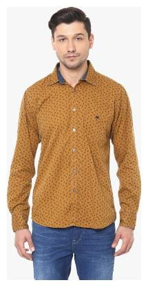 Crimsoune Club Men Slim fit Casual shirt - Yellow