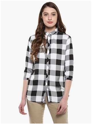 Club Check Shirt Casual Crimsoune Grey 8qPpxnTw