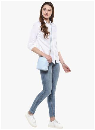 Club Crimsoune Casual Solid Shirt White UwxvRq6wn