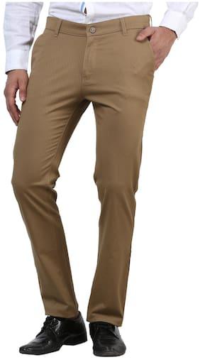 Crimsoune Club Khaki Textured Trouser