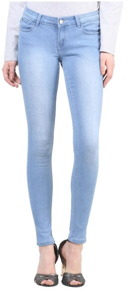 Crimsoune Club Light Blue Skinny Fit Jeans