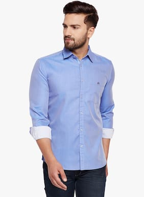Crimsoune Club Men Slim Fit Casual shirt - Blue