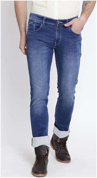 Crimsoune Club Men Mid rise Slim fit Jeans - Blue