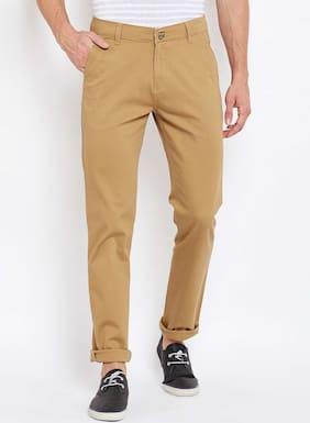 Crimsoune Club Khaki Solid Trouser