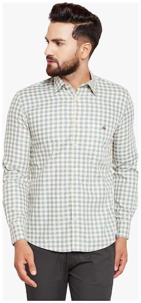 Crimsoune Club Men Slim Fit Casual shirt - Grey