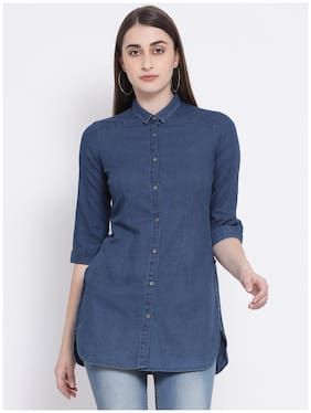 Women Slim Fit Casual Shirt