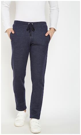Crimsoune Club Men Cotton Track Pants - Blue