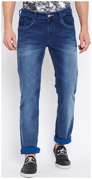 Crimsoune Club Men Blue Slim Fit Jeans