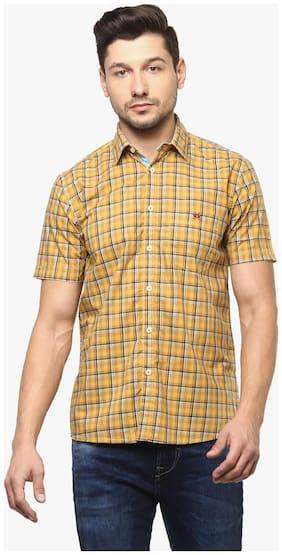Crimsoune Club Men Slim fit Casual shirt - Yellow