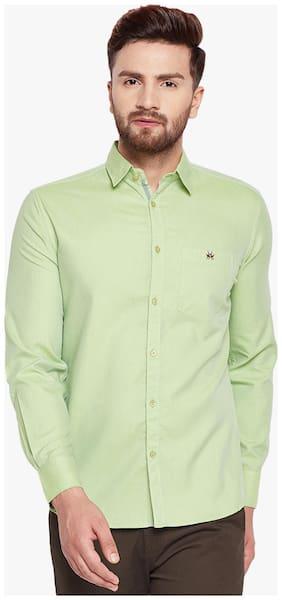 Crimsoune Club Men Slim Fit Casual shirt - Green