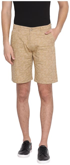 Men Printed Regular Shorts